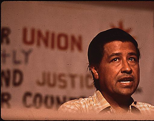 Cesar Chavez, Migrant Workers Union Leader, 07/1972 from Flickr via Wylio