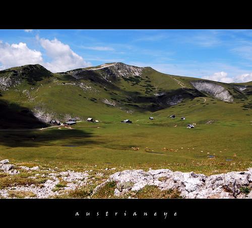 austria hiking wandern schneealpe