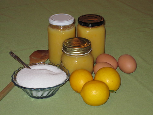 Photo of Lemon Curd, with ingredients