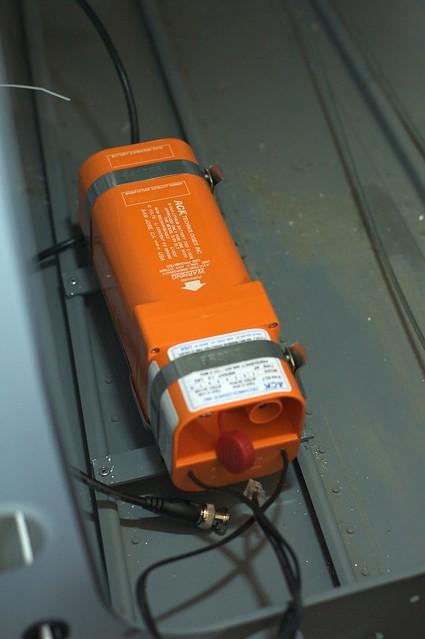 Ack E-04 406/121.5 Mhz ELT Mounted
