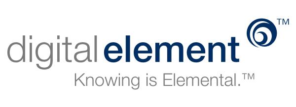 Digital Element Logo Original 600 × 218