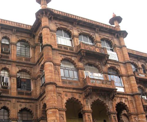 YMCA building, built in Jaina-Jaipuri style