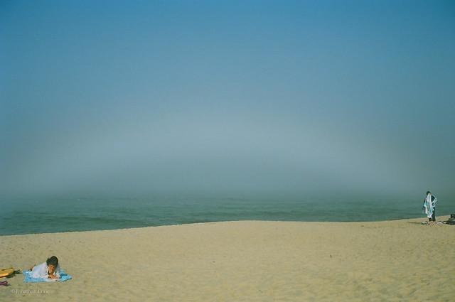 Misty Ocean Rainbow