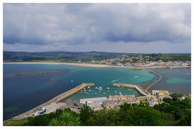View From St Michael's Mount. Cornwall.