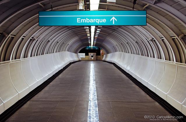 Embarque nesta estação