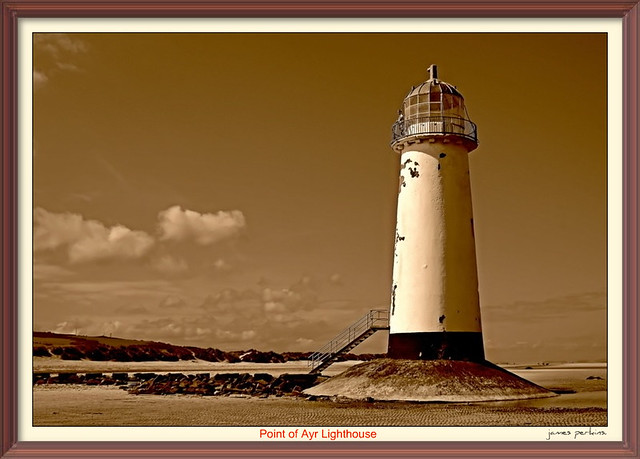 Point of Ayr Lighthouse.