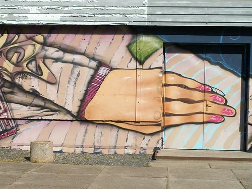 Graffiti in der Mitte nach frommer Häschersitte wirklich am Herzen ziemlich herrlich in Dresden 024
