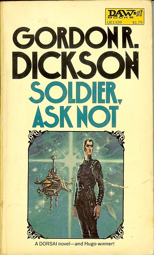 Sodier, Ask Not - Childe Cycle - Gordon R. Dickson - cover artist Kelly Freas