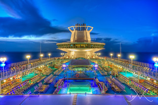 Royal Caribbean Cruise Night HDR