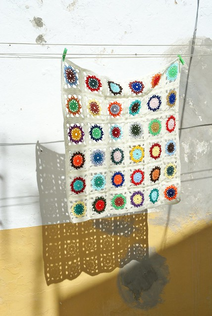 crocheting de la luz