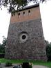 Kirche Pinnow - Westseite mit Turm