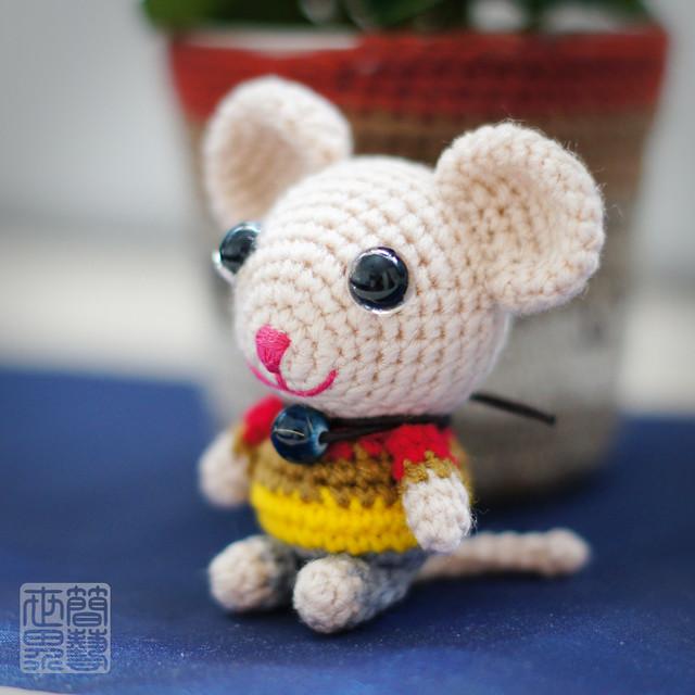 Amigurumi Receitas Portugues : koko amigurumi mouse Flickr - Photo Sharing!