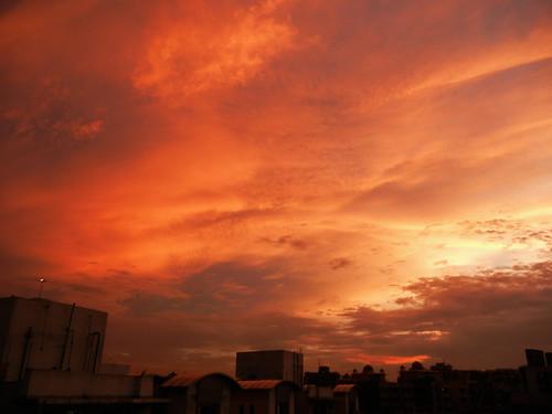 sunset sky clouds cloudsstormssunsetssunrises