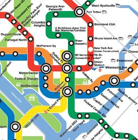 WMATA Subway Map, cropped