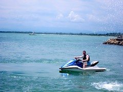 Ben Aboard Jet Ski