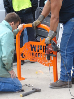 WPB Bike Rack Installation