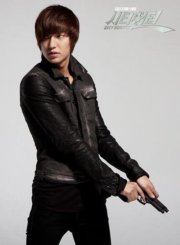 Kim Hyun Joong Fever Lee Min Ho 39 S Photos From City Hunter
