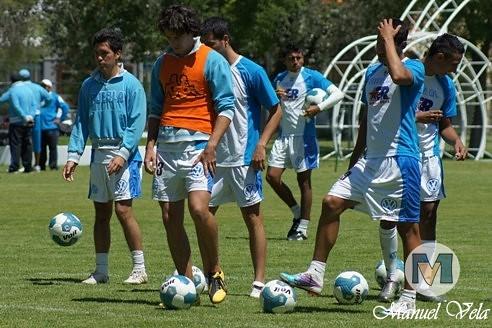 DSC00163 Puebla FC entreno en las instalaciones de la Unidad Deportiva de la VW previo vs Rayados de Monterrey por LAE Manuel Vela
