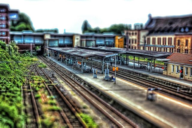 Osnabrück - Osnabrück Hauptbahnhof TiltShift 02