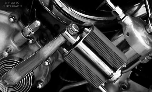 Harley Davidson kickstart pedal