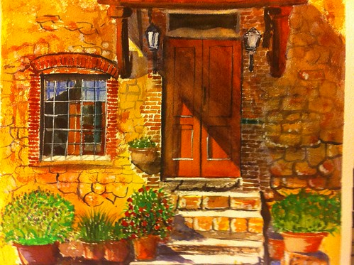 door pakistan sexy farmhouse watercolor nude rustic tuscany watercolour punjab beautifuldoorslandscape girlssexywomen