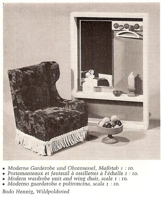 1969 bodo hennig garderobe und ohrensessel flickr. Black Bedroom Furniture Sets. Home Design Ideas