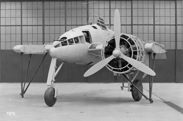 Grumman XP-50 Mockup 1