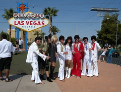 "Idea...""Lets get married in Vegas, I have a great idea for outfits"" by scb.mypics"