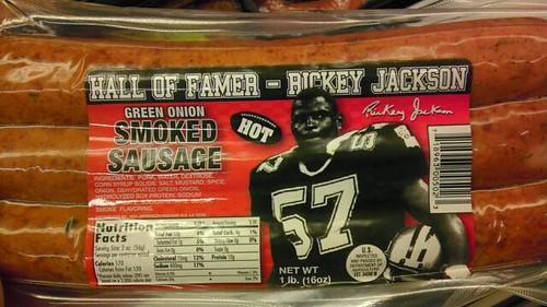 Rickey Jackson smoked sausage