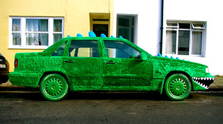 Green (furry) motoring