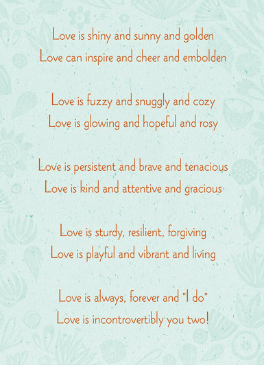 Happy Anniversary Inside The Little Poem I Included Insi