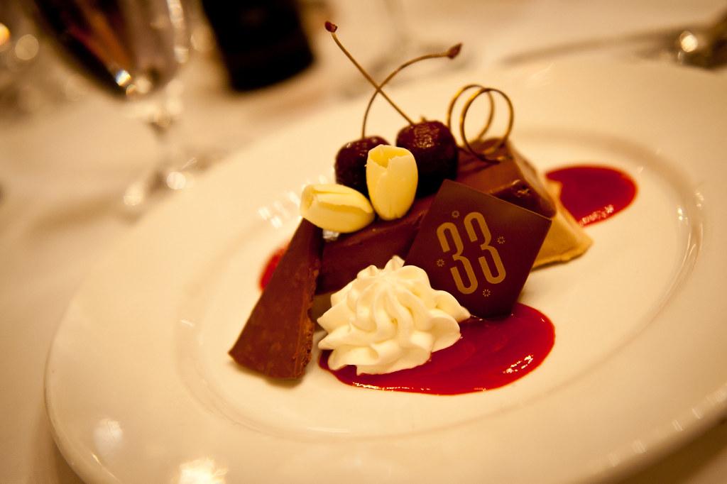 Dessert - Club 33 - Disneyland Park