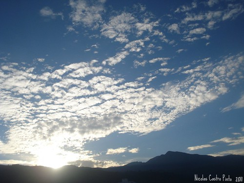 blue sky cloud white mountain blanco azul sunrise dawn alba amanecer cielo montaña nube nicaspin