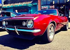 Classic red Camaro