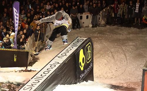 snow snowboarding nose skiing extreme rail august dunedin jam 20th octagon skullcandy octagonrailjam