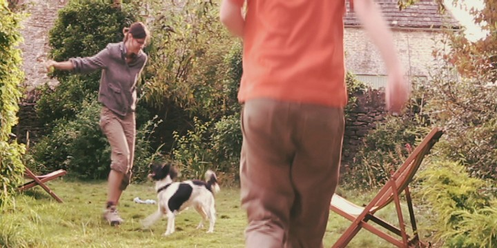 Slow motion dog games
