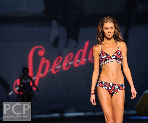 Mercedes Benz Fashion Week- Speedo Runway