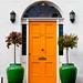 Yellow door by Steve-h