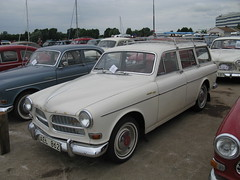 automobile, automotive exterior, vehicle, antique car, volvo cars, sedan, classic car, vintage car, land vehicle, volvo amazon,