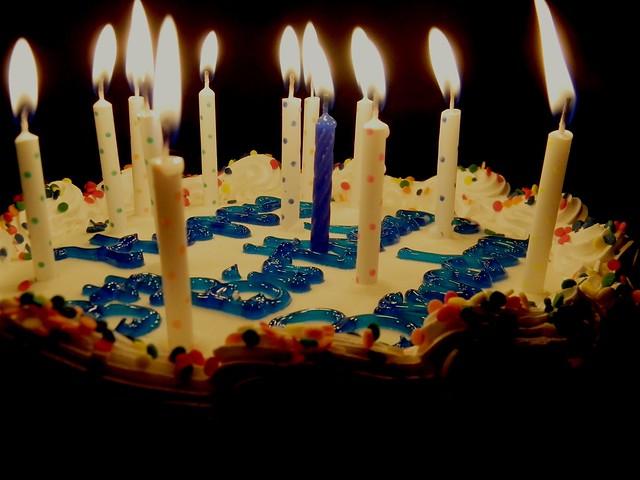 Happy Birthday Cake Brandon