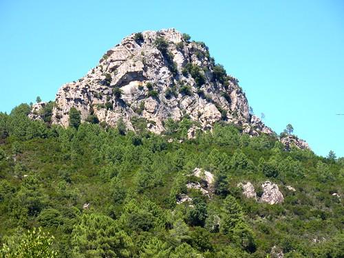Punta di u Castellacciu : depuis la piste du Mulinelle