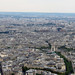 View of Paris from atop the Eiffel Tower