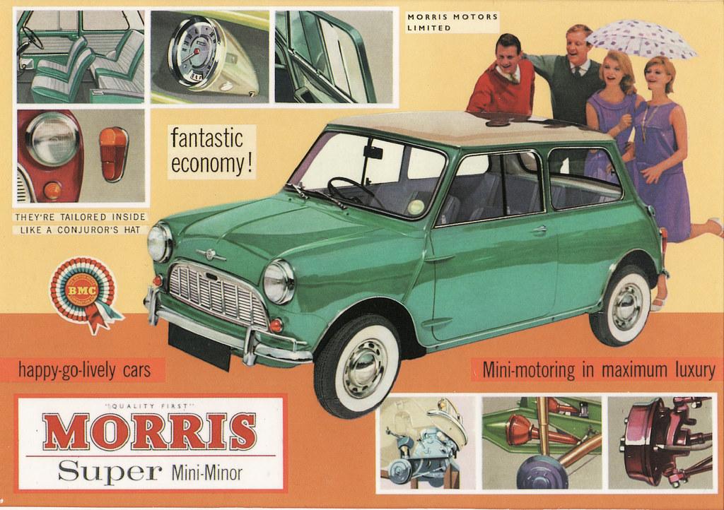 noleggio Morris Mini Minor 1959