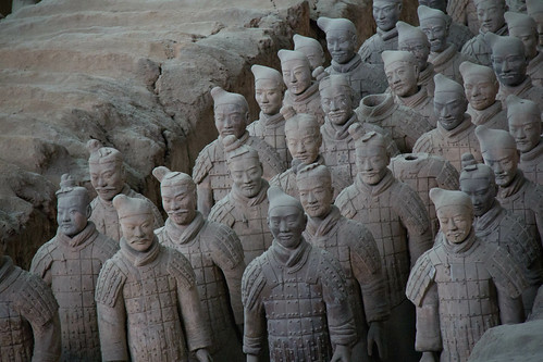 Joriz De Guzman's photo of the Terra Cotta Warriors.