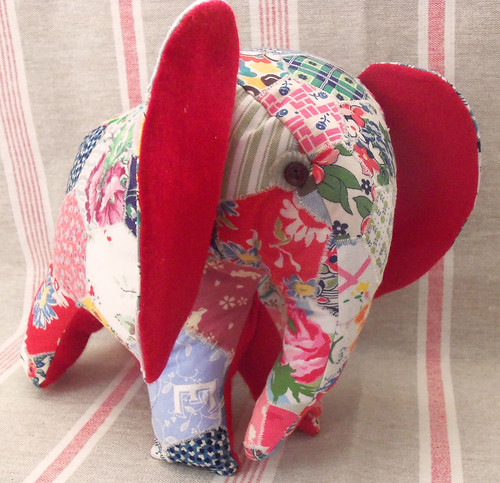 Charlie the Patchwork Elephant (3)