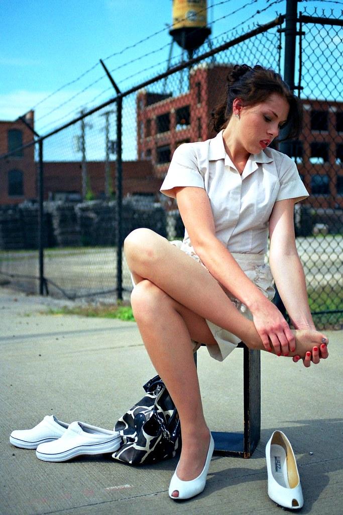 Waitress Shoes Heels