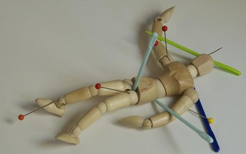 On Pins And Needles (Paranoiac-Critical Still Life)