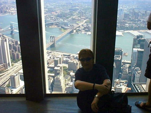 View from the World Trade Centre