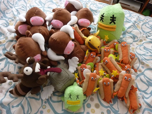 stuffed stuff for PAX Prime 2011