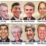 Super Congress / Committee - Member Caricatures